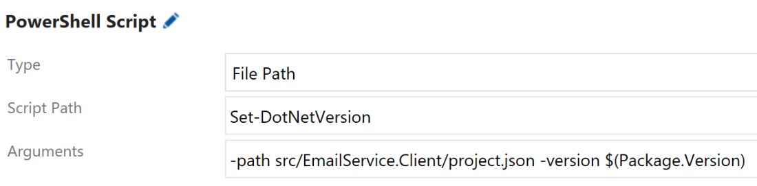 Using PowerShell to update DotNet Core version numbers – Keith Williams